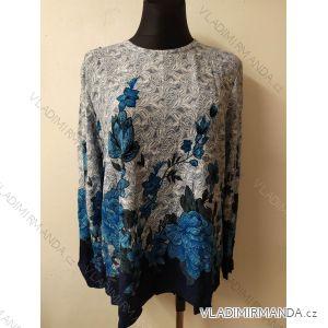 Tričko teplé dlouhý rukáv dámské (l-3xl) DUNAUONE PM119HR-3551