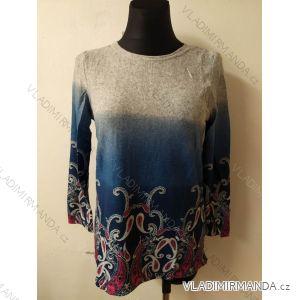 Tričko teplé dlouhý rukáv dámské (l-3xl) LINTEBOB SUN119HR-3575