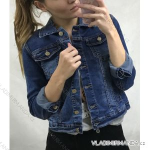 Bunda riflová jeans dámská (s-xl) GOURD MA119gd8002-K
