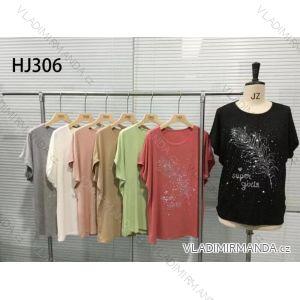 Tričko s kamínky krátký rukáv dámské (s-xl) M.B.21 MA719HJ306