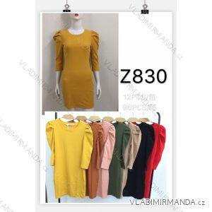 Šaty 3/4 rukáv dámské (s-xl) M.B.21 MA719Z830