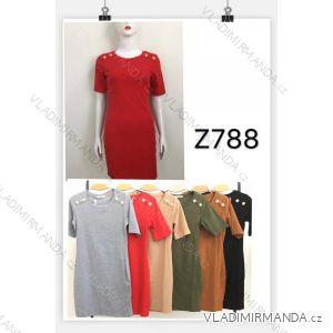 Šaty krátký rukáv dámské (s-xl) M.B.21 MA719Z788