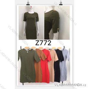 Šaty krátký rukáv dámské (s-xl) M.B.21 MA719Z772