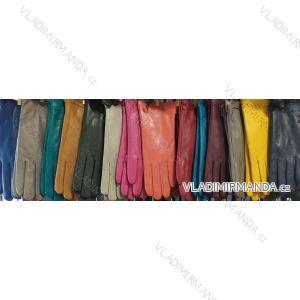Rukavice prstové teplé dámské koženkové ( ONE SIZE ) VIKERS POL219047