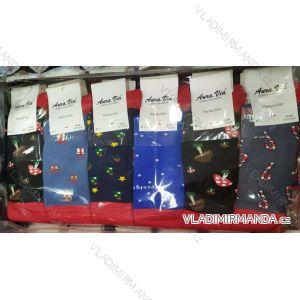 Ponožky klasik slabé perfect vánoční pánské (39-46) AURA.VIA PON19SFC5066