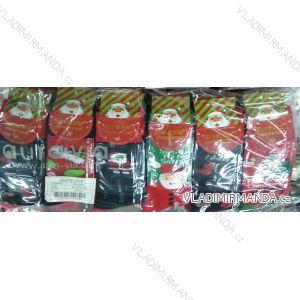Ponožky vánoční thermo teplé pánské (39-46) AURA.VIA SFV5662