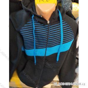 Mikina s kapucí na zip pánská (m-2xl) TURECKá MóDA TM1019002