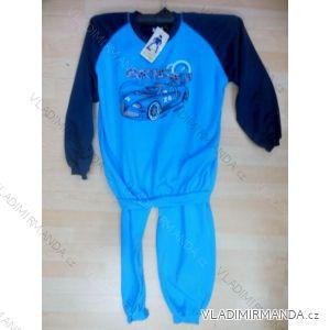 Pyžamo teplé dlouhé dětské chlapecké (98-128) YN.LOT YNL19644B