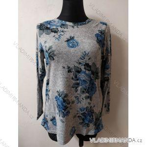 Tričko teplé dlouhý rukáv dámské (l-3xl) LINTEBOB SUN119HR-3530