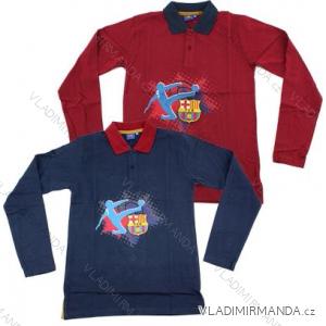 Tričko s límečkem dlouhý rukáv chlapecké (116-164) FC BARCELONA SETINO 960-806/PRE
