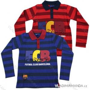 Tričko s límečkem dlouhý rukáv chlapecké (116-164) FC BARCELONA SETINO 960-835