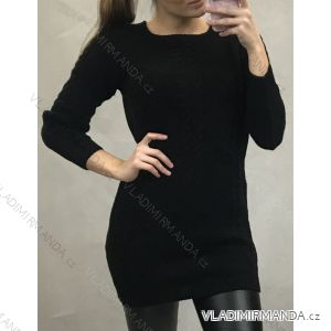Šaty pletené dlouhý rukáv dámské (uni s-m) TURECKÁ MóDA TM919092