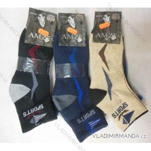 Ponožky teplé sportovní pánské  (40-47) AMZF A-499