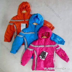 Bunda zimní dětská funkční sportovní lyžarská nepromokavá vetruvzdorná prodyšná (98-128) NEVEREST IP-32-1364CC