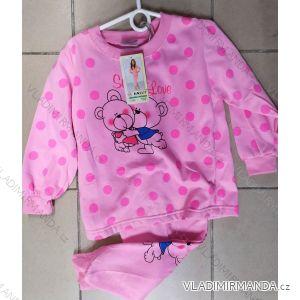 Pyžamo dlouhé dětské dívčí (98-128) YN.LOT YNL191/984