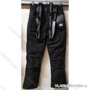 Kalhoty lyžařské zimní oteplovačky nepromokavé dámské (s-2xl) SUPER EW EW-L-19