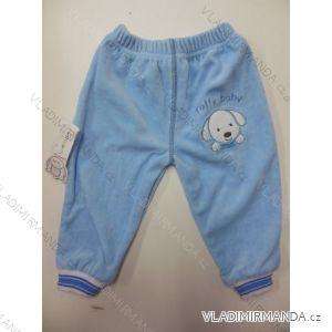Kalhoty sametové kojenecké dívčí a chlapecké (62-86) TOFFY KT23067