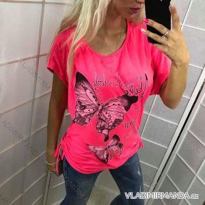Tunika tričko dámský neon (uni m/l) ITALSKá MODA IM619002