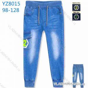 Kalhoty džegíny dětské chlapecké (98-128) KUGO YZ8015