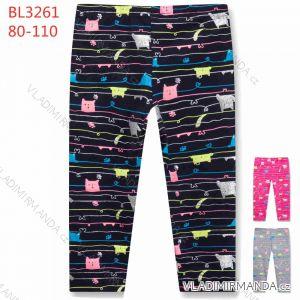 Legíny dlouhé kojenecké dětské dívčí (80-110) KUGO BL3261