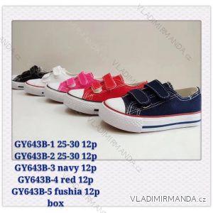 Tenisky dětské dívčí (25-30) WSHOES OB220GY643B