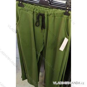 Kalhoty dlouhé elegantní dámské (uni s-l) ITALSKá MODA IM720021