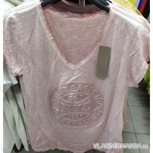 Tričko krátký rukáv dámská (uni s-l) ITALSKá MóDA IM720024