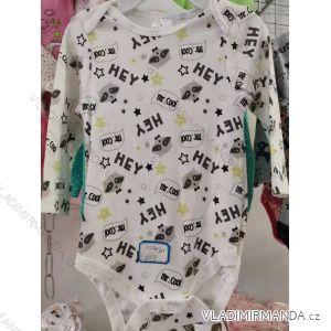 Body dlouhý rukáv kojenecké chlapecké (3-24 měsíců) AODA AOD20003
