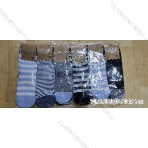 Ponožky slabé dětské a dorost chlapecké (23-34) AURA.VIA BZ-01