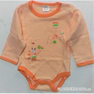 Body dlhý rukáv dojčenskej bavlněné (56-104) KAY KAY20003