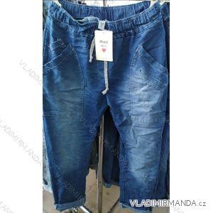 Rifle jeans baggy dámské (uni s-m) ITALSKÁ MÓDA IM120090
