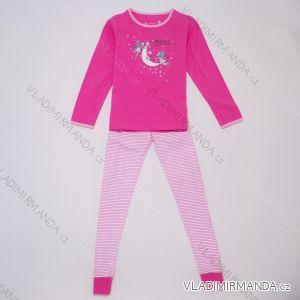 Pyžamo dlouhé dětské a dorost dívčí (116-146) WOLF S2954