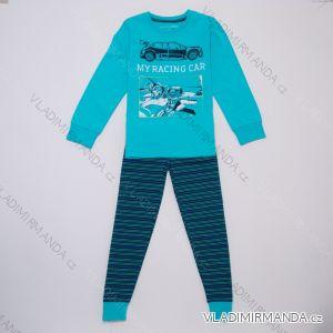 Pyžamo dlouhé dětské a dorost chlapecké (116-146) WOLF S2957