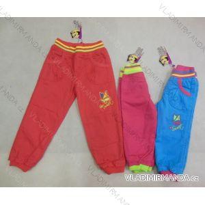 Kalhoty slabé kojenecké dětské dívčí (86-110) GOOD CHILDREN CCP-19