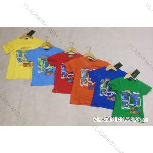 Tričko krátký rukáv dětské chlapecké  (104-134) FORTOG 71002