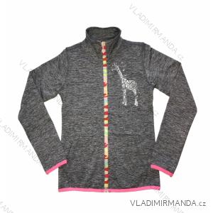 Mikina outdoor jarní dívčí  (110-140) WOLF M2041