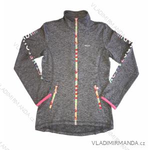 Mikina outdoor jarní dívčí  (134-164) WOLF M2042