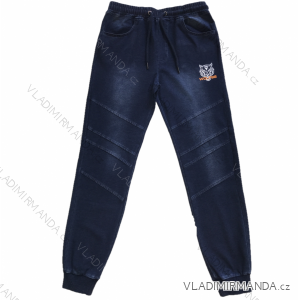 Kalhoty riflové dorost chlapecké  (134-164) WOLF T2061