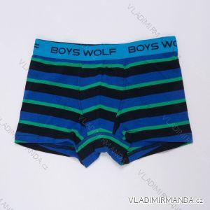 Boxerky dětské dorost chlapecké (134-164) WOLF L2982C