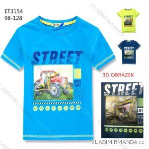 Tričko s krátkým rukávem dětské chlapecké (98-128) KUGO ET3154