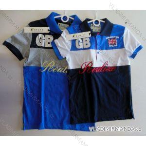 Tričko krátký rukáv bavlněné dorostenecké chlapecké  (10-16 let) NATURE RQ-2509