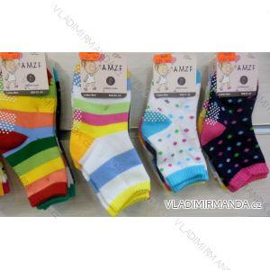 Ponožky slabé protiskluzové dětské dívčí  (17-22,23-27) AMZF ZCB4-9603