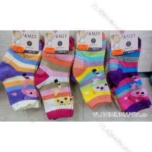 Ponožky slabé protiskluzové dětské dívčí  (17-22,23-27) AMZF ZCB4-9604