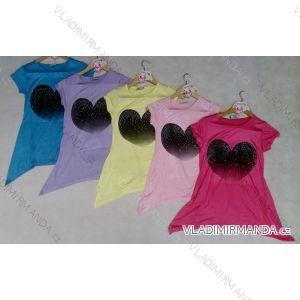 Tričko krátký rukáv se srdíčkem dorost dívčí (134-164) ARTENA 91011