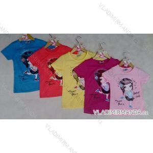 Tričko krátký rukáv s postavičkou dětské a  dorost dívčí (122-146) ARTENA 91004
