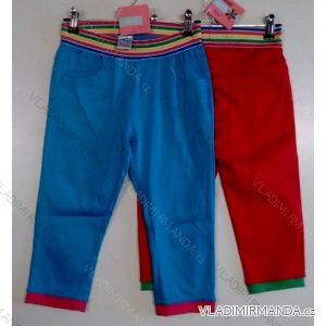 Kalhoty látkové 3/4 dětské a dorostenecké dívčí (4-12 let) ARINA AF9134