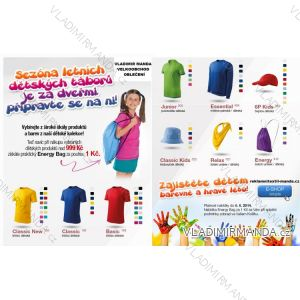 Tričko krátký rukáv dětské dorost (110-146) BASIC138