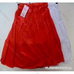 Sukně dlouhá letní dětská dorost dívčí bavlněná (8-16 let) FAD 9041