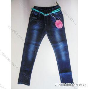 Rifle jeans dětské a dorost dívčí (110-140) SUN SEA LK-1218