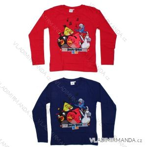 T-Shirt Long Sleeve Baby and Adolescent Boys Angry Birds (5-12 Years d86b14a503